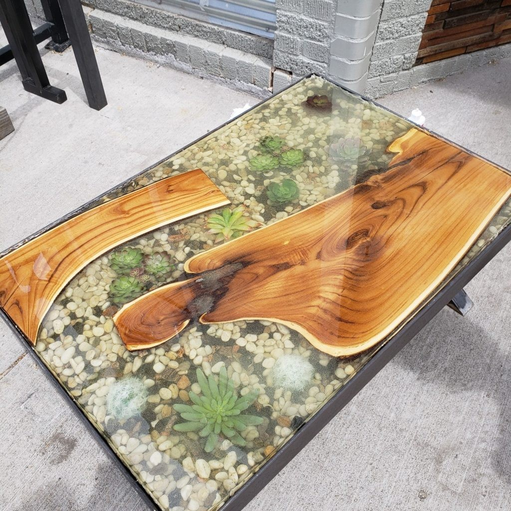 Resin River Tables, Kitchen Tables & Coffee Tables! I Holztisch Aus Harz